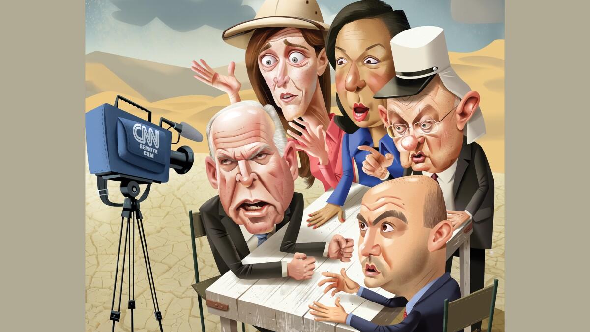 Team Obama in exile