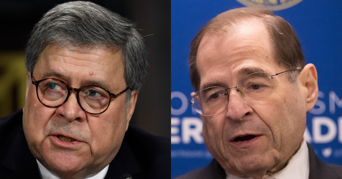 Barr a no-show in House, contempt vote looms