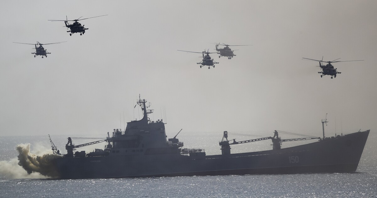 'Significant buildup' of Russian military forces in Crimea
