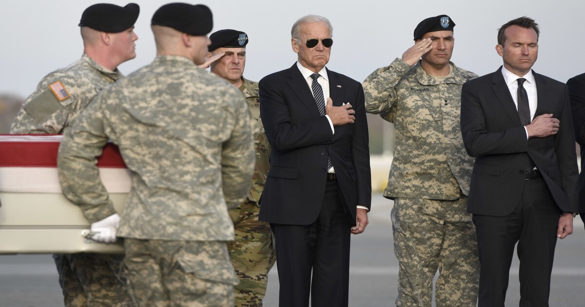 Good thing that he was surrounded by Secret Service': Joe Biden ...