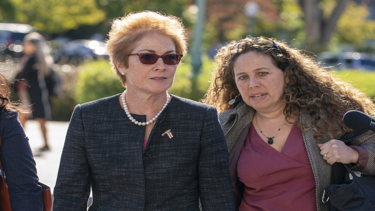 Ex-Ukraine envoy: Trump broke 'sacred trust' with American diplomats
