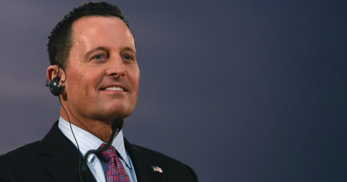 Richard Grenell says he won't be nominated for permanent spy chief post