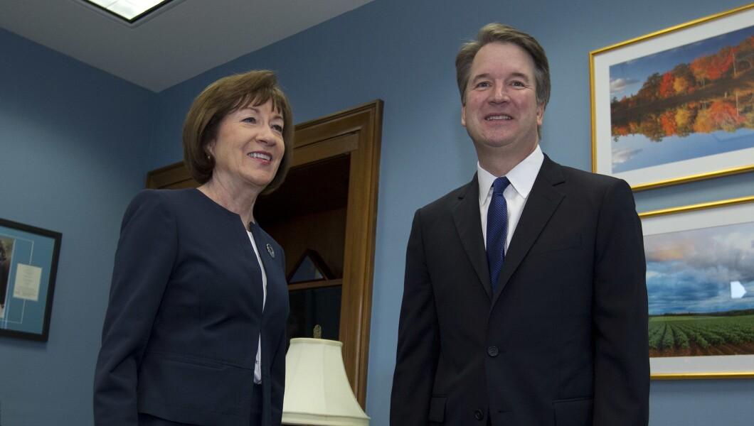 Supreme Court Brett Kavanaugh Susan Collins 082918