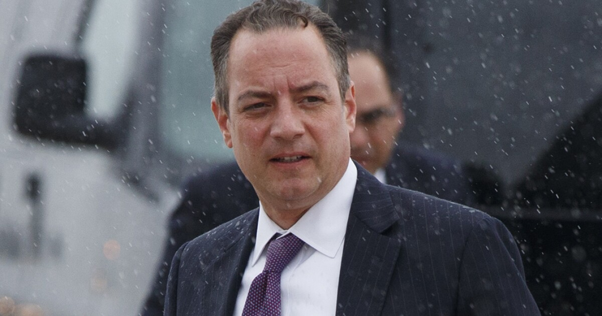Reince Priebus becomes Navy officer