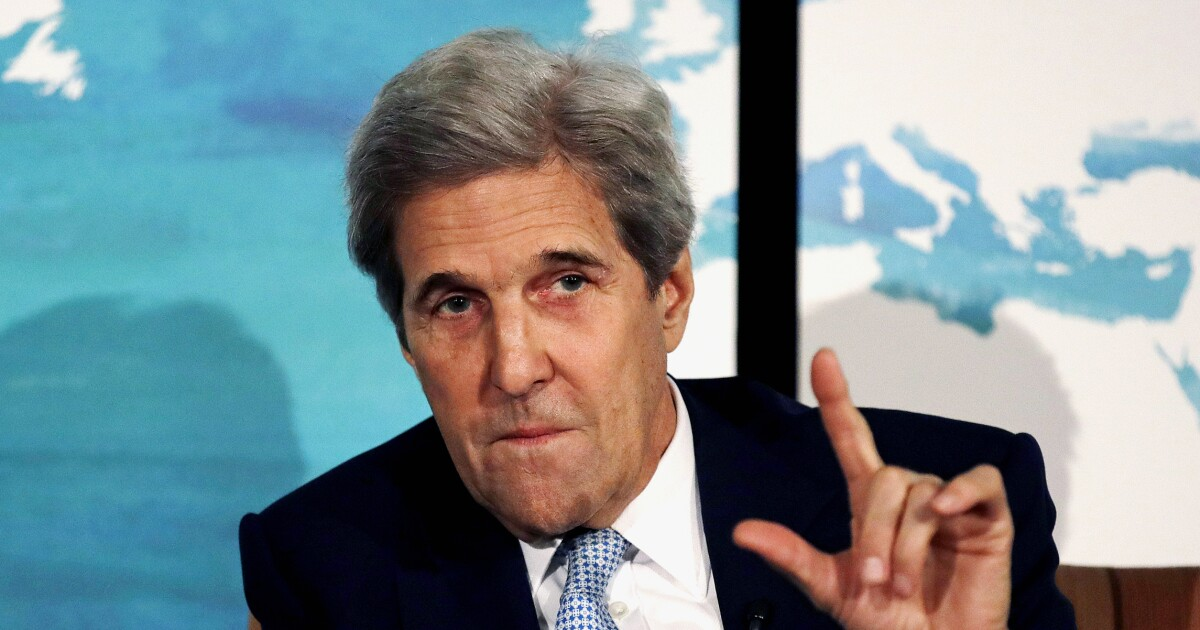 John Kerry's message to Trump from Davos: Resign