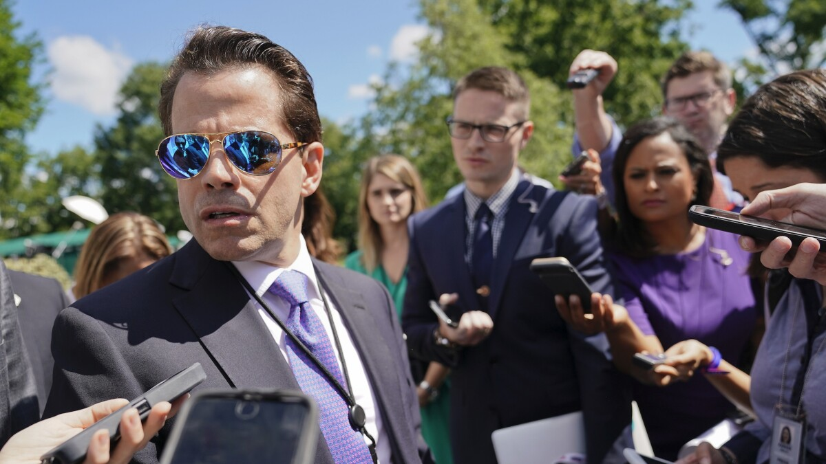 'What changed?': Scaramucci hosted Donald Trump Jr. for dinner days before break with president