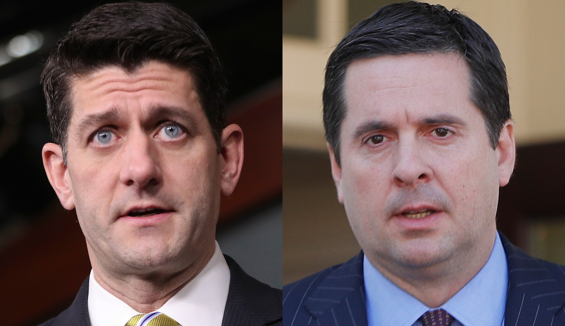 Paul Ryan and Devin Nunes
