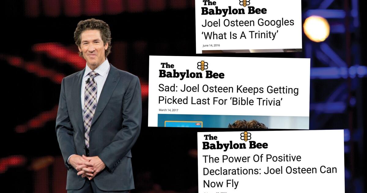 The Sharp Sting of the 'Babylon Bee'