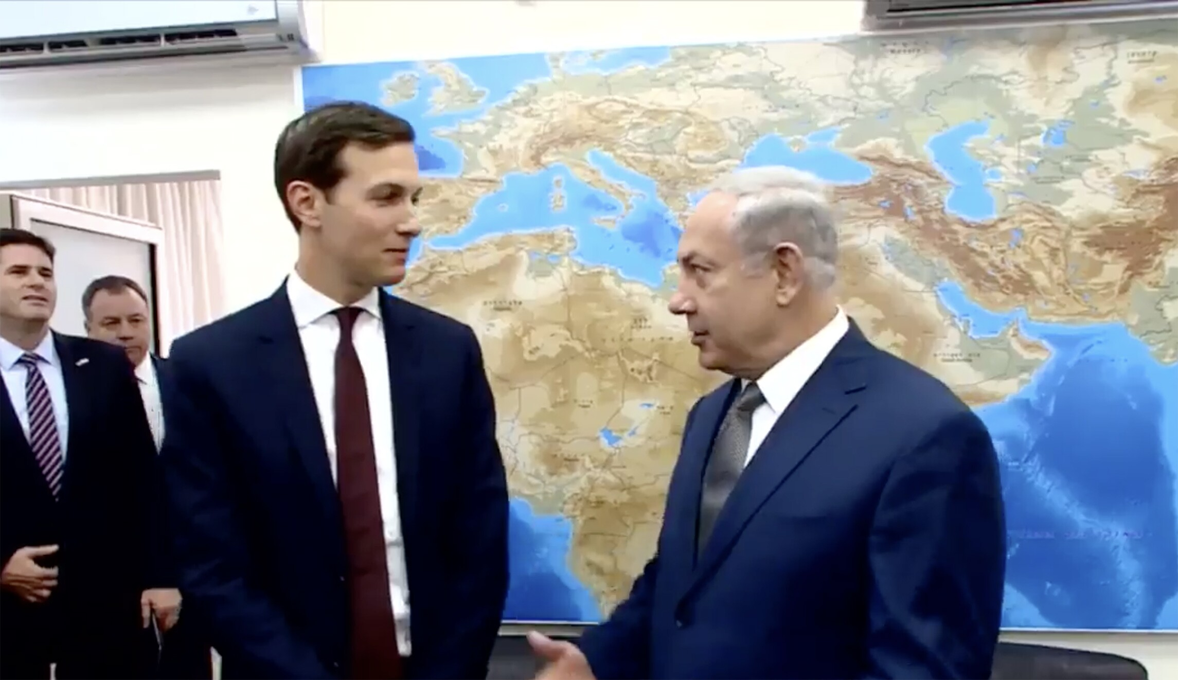 Jared Kushner briefed Benjamin Netanyahu on US reluctance to ...