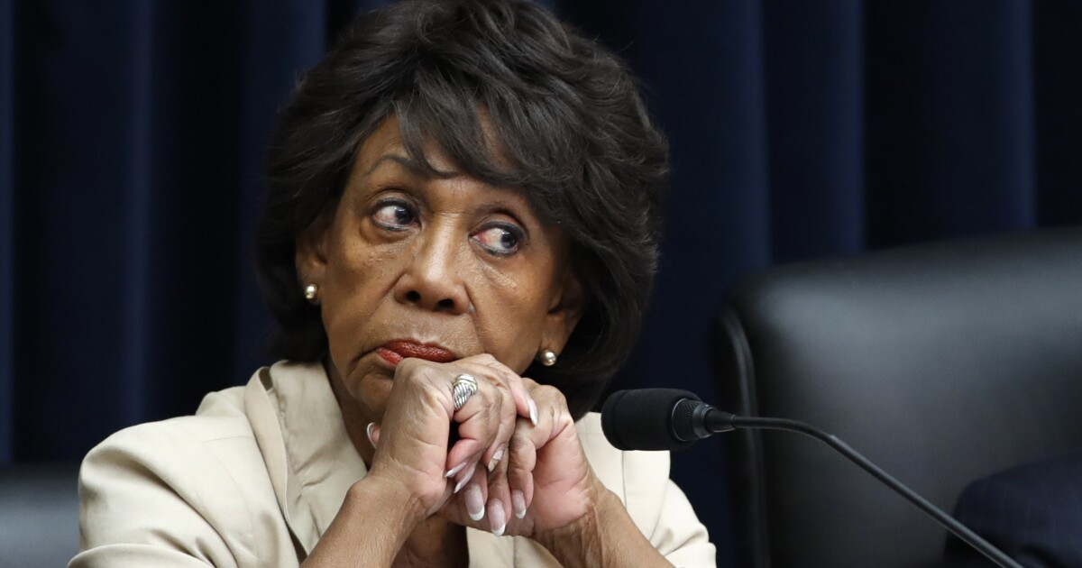 Democrats' House victory sets up Maxine Waters to chair financial services committee