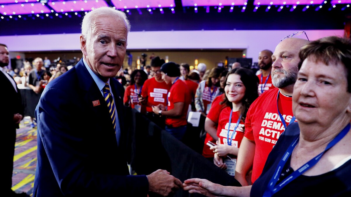 Biden's endorsement edge not necessarily a big advantage