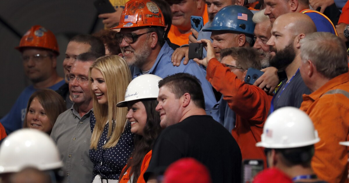 Ivanka emerges as Trump's jobs czar, focus on 'forgotten men and women'