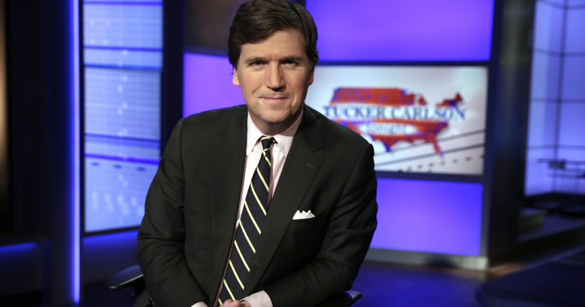 Tucker Carlson: Having protesters scream at you in a