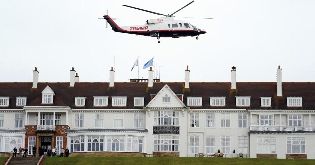 Trump's Scottish golf courses post $14 million loss in 2018 - Washington Examiner