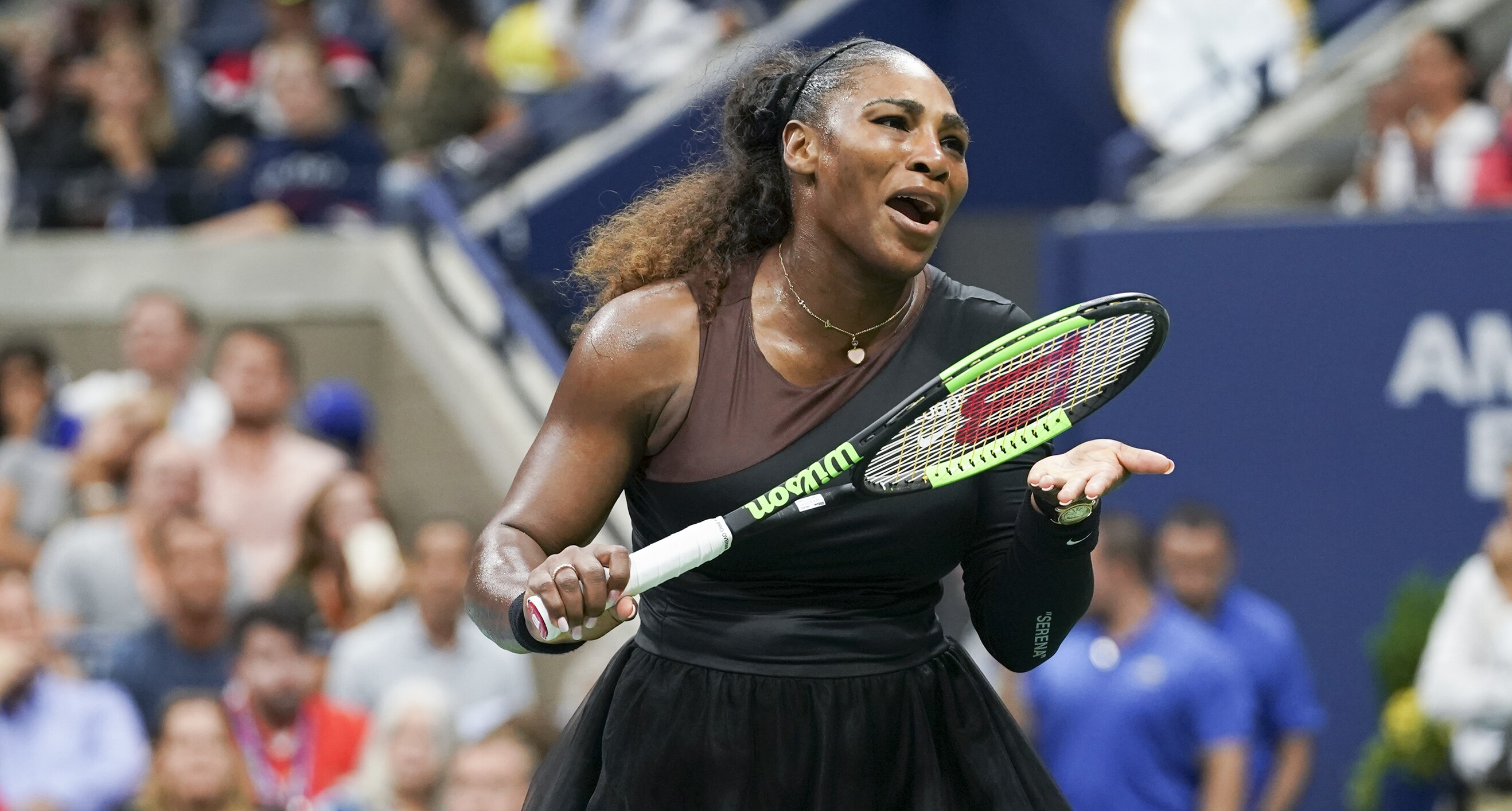 Serena Williams Wears Empowering Outfit as She Returns to ...