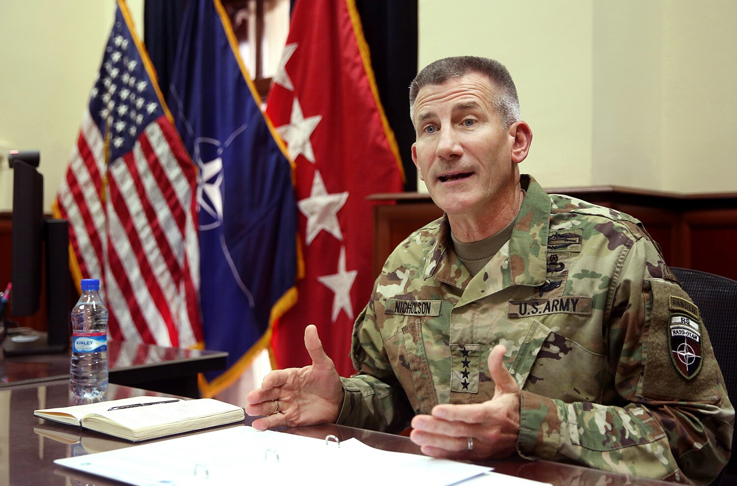 U S  commander in Afghanistan claims successes against ISIS