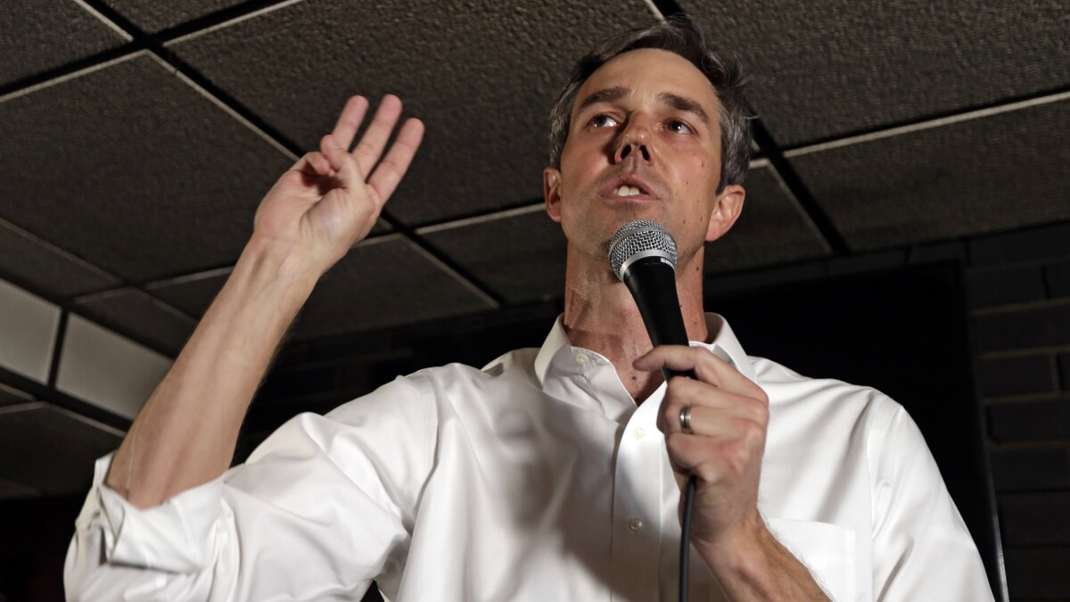 Beto O'Rourke willing to consider 'getting rid' of all semi-automatic firearms