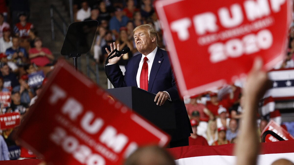 Trump super PAC girds for 2020 in key battlegrounds with new polling team