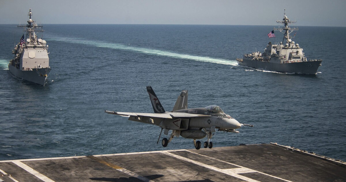 Pentagon, Navy aren't touching Trump's call to replace 'no good' launchers on aircraft carriers with 'goddamned steam' catapults