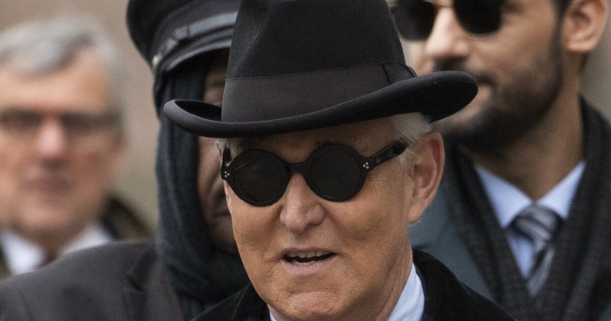 Roger Stone sentenced to 40 months as possible...