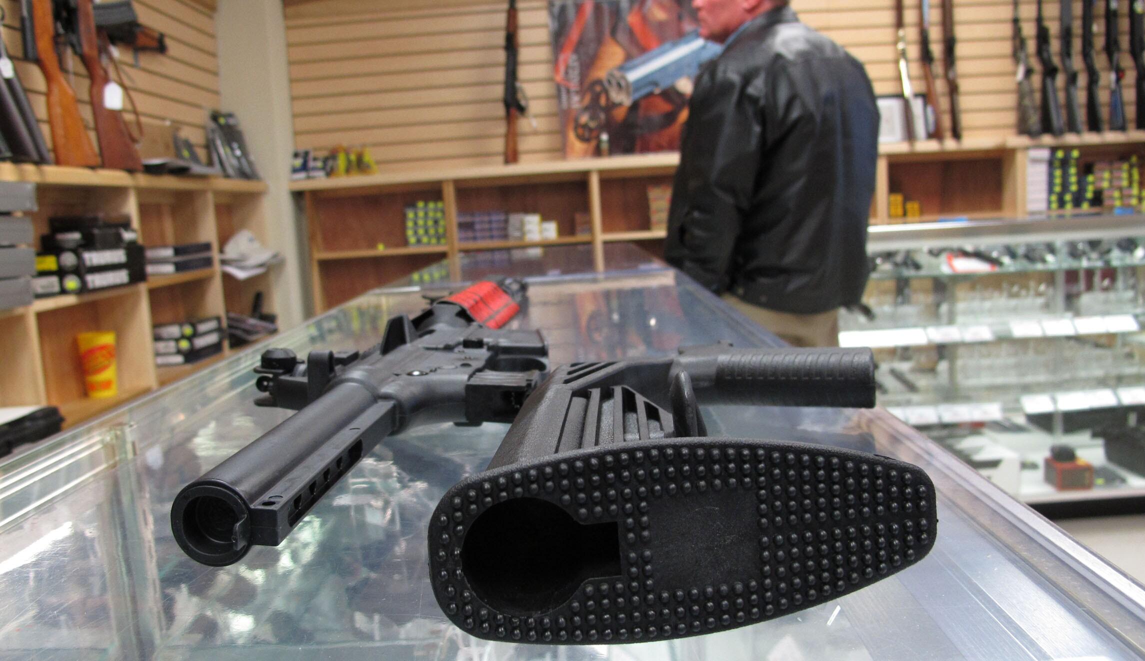 Can a bump stock make an AR-15 fire like a machine gun? (Yes