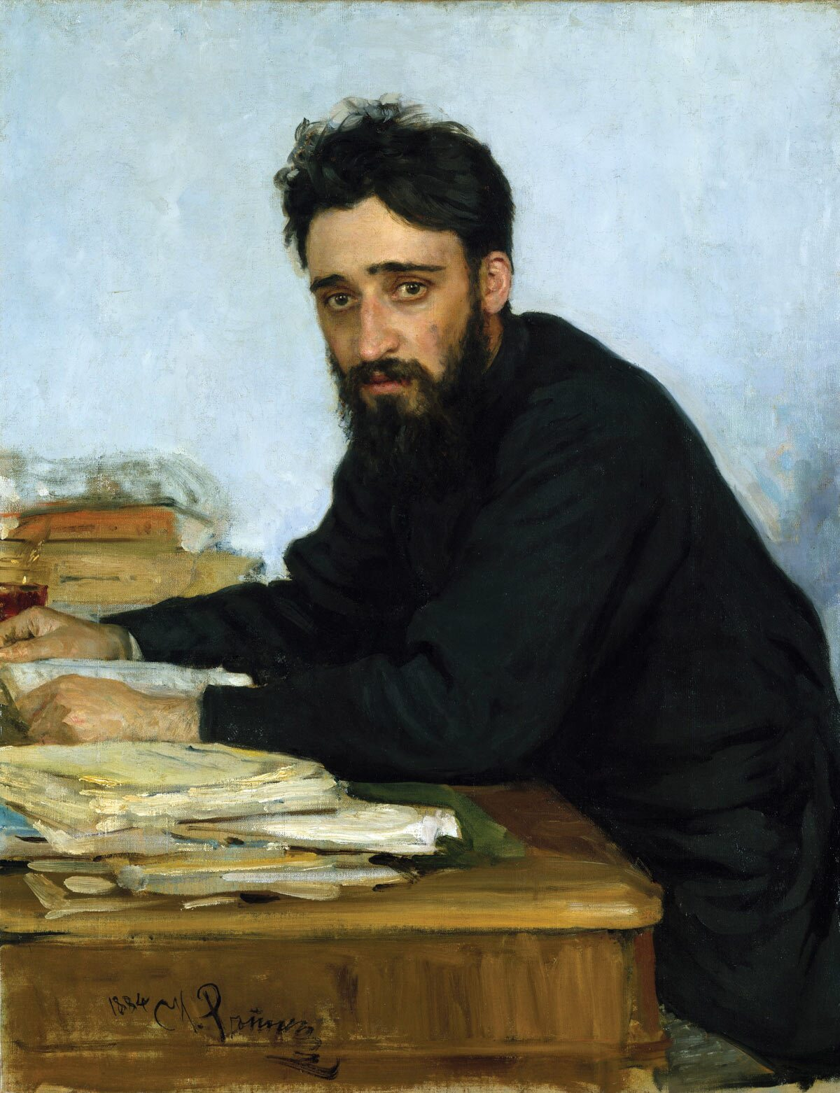 Vsevolod Garshin (painted by Ilya Repin in 1884) wrote with deep compassion and without sentimentality.