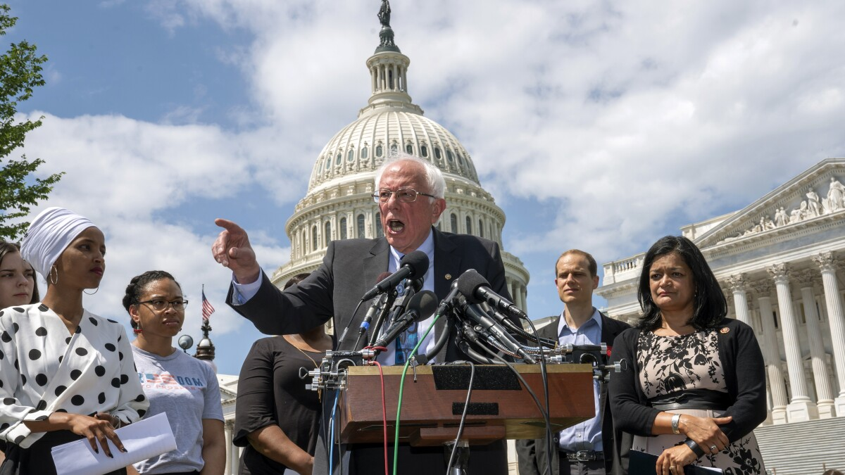 Bernie Sanders rolls out bill to forgive $1.6T in student debt