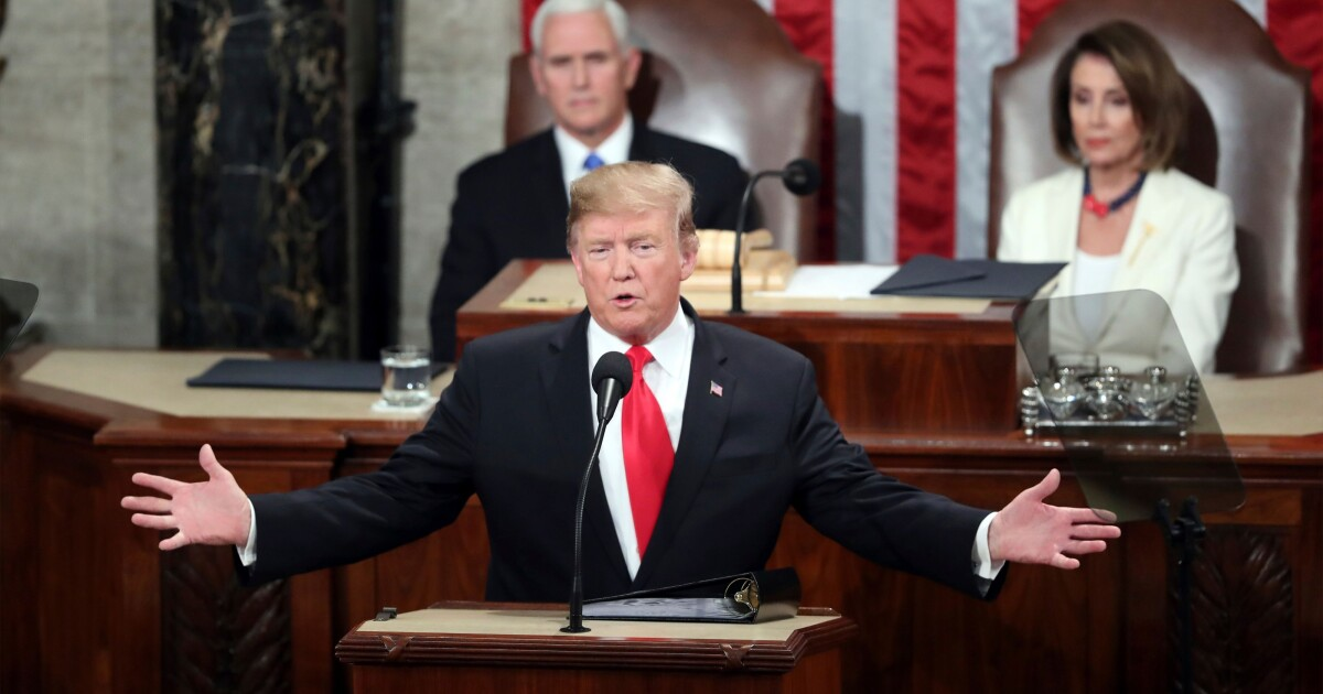 Image result for With Pitch for Unity, President Trump Urges Republicans and Democrats to 'Choose Greatness'