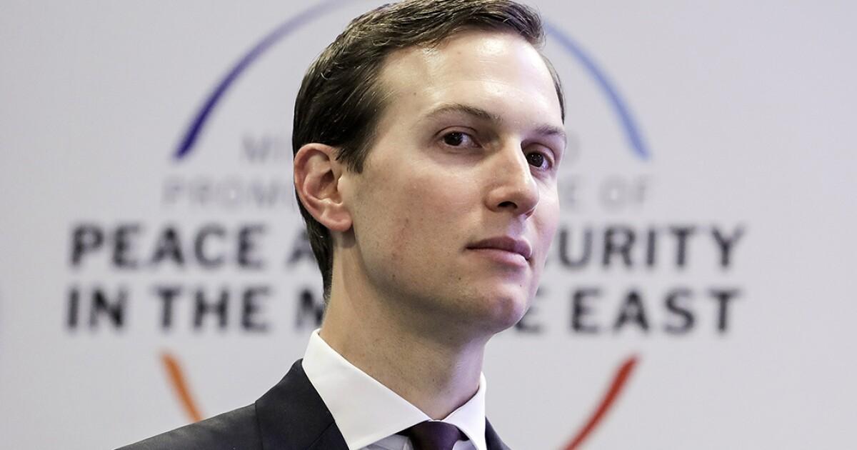 Jordan-Saudi Arabia land exchange appeared in draft of Jared Kushner's Middle East peace plan