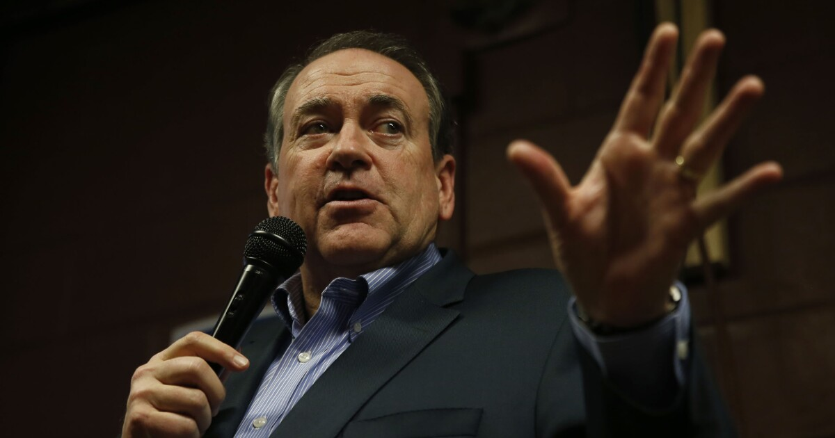 Mike Huckabee: Resurrect fiscal sanity