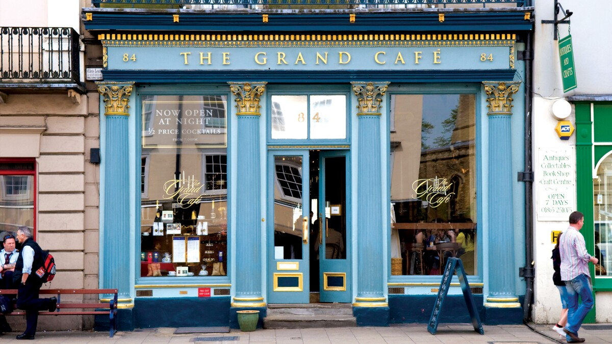 Postcard from: England's first coffee house — possibly