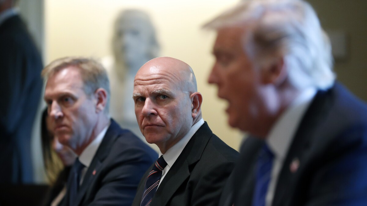 H.R. McMaster told Trump off for asking Iraqi prime minister about oil