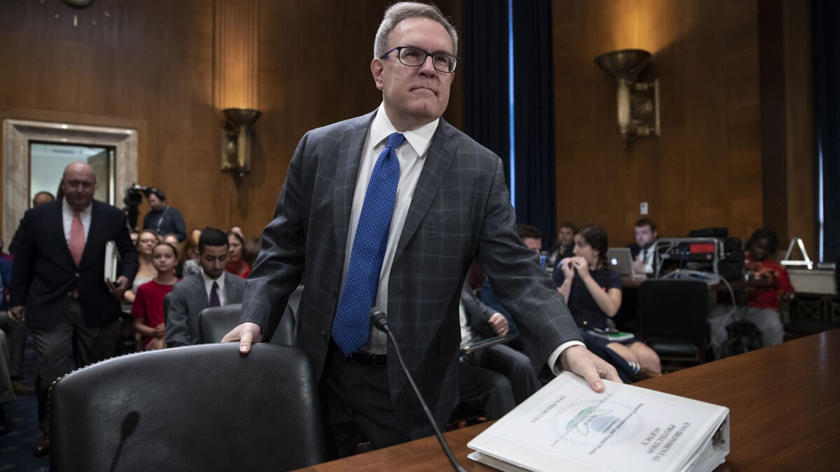EPA chief suggests California environmental rules to blame for wildfire-induced blackouts