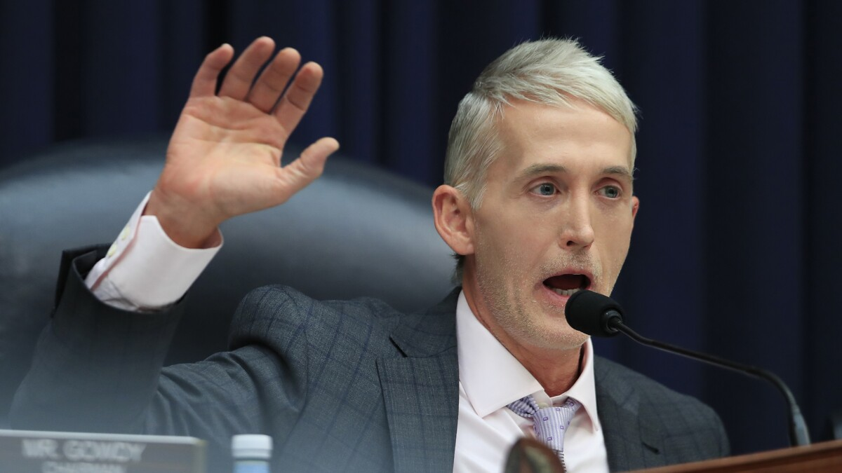 Trey Gowdy: 'Partisan' Adam Schiff scares off access to confidential information