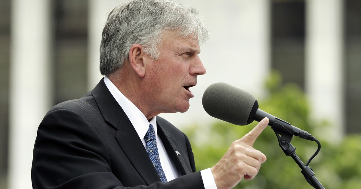 Franklin Graham banned from speaking in UK for opposing homosexuality
