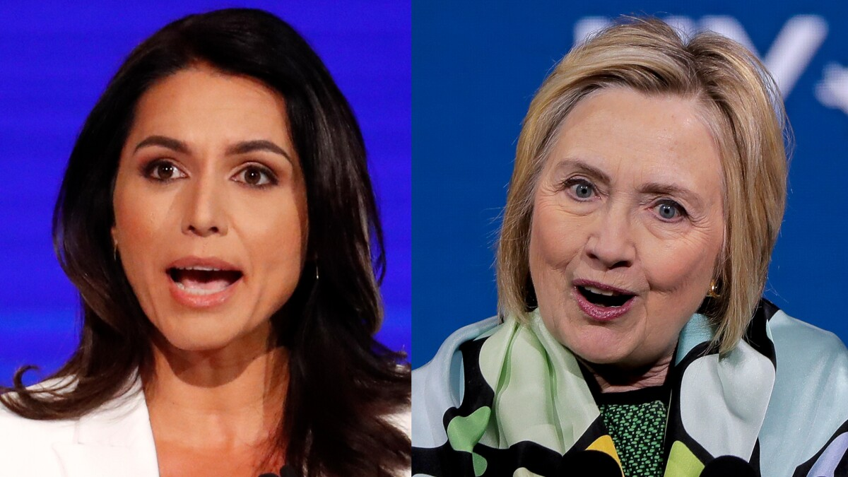 Tulsi Gabbard blasts Hillary Clinton weeks after calling her 'personification' of Democratic Party 'rot'