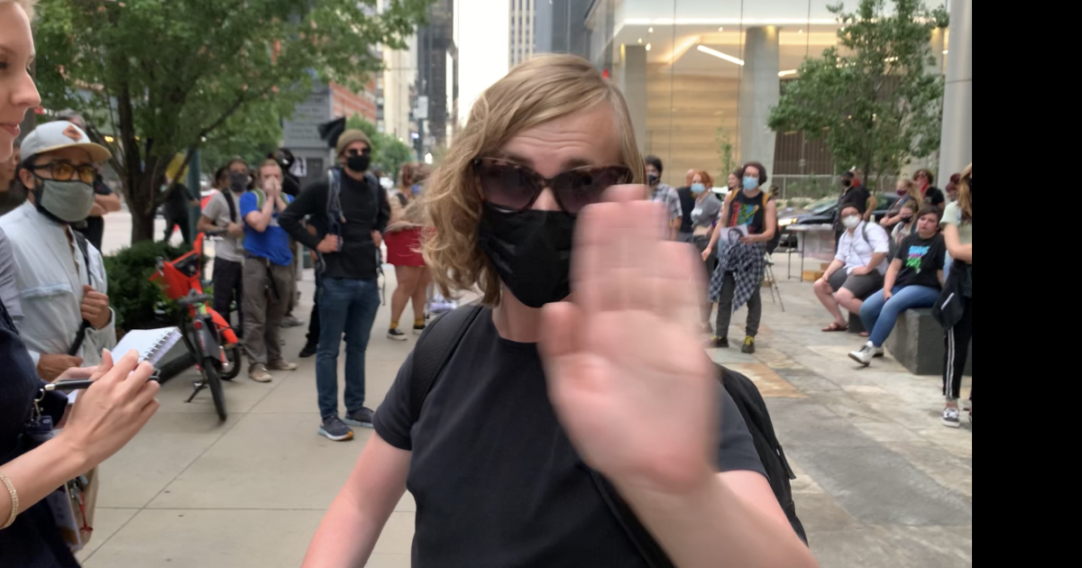 Denver antifa protests the Western Conservative Summit and, also, us journalists