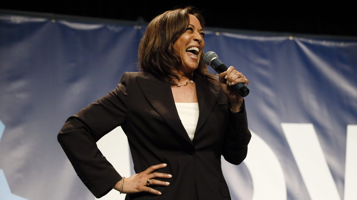 Kamala Harris released a playlist on Spotify, and it's actually kind of fun