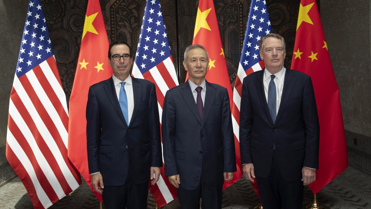 No face-to-face trade talks set for US and China, telephone talks limited