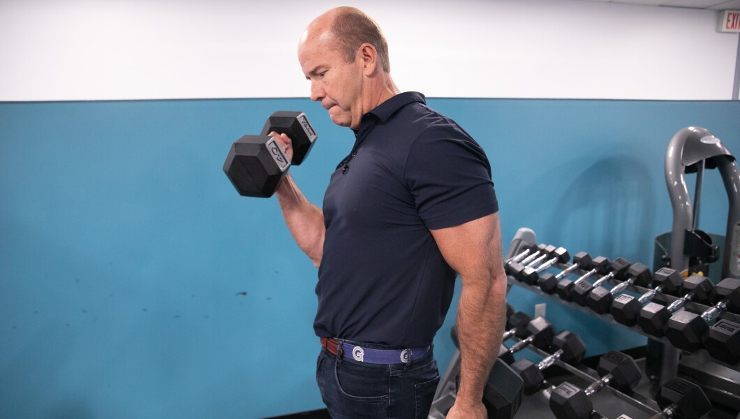 John Delaney lifting