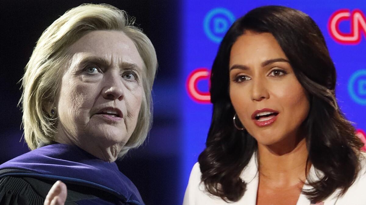 Thanks, Hillary! Tulsi makes the November debate