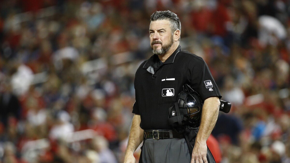 'CIVAL WAR!!!': MLB looking into umpire's tweet saying he planned to buy AR-15 if Trump is impeached
