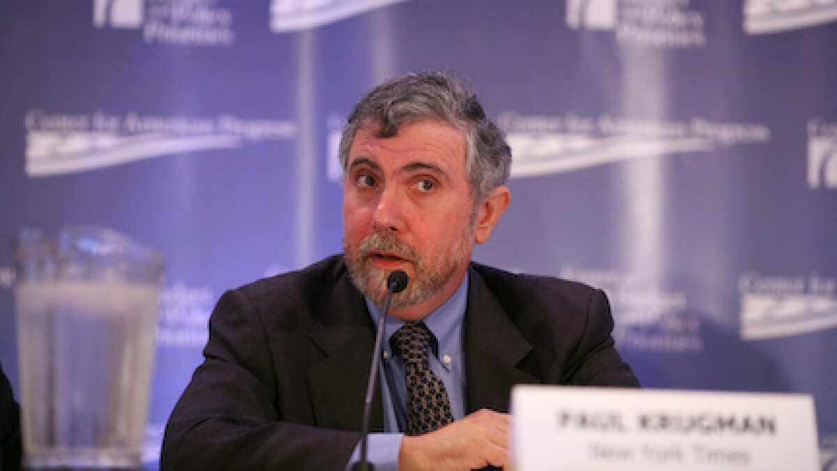 Paul Krugman accidentally makes the case against big government