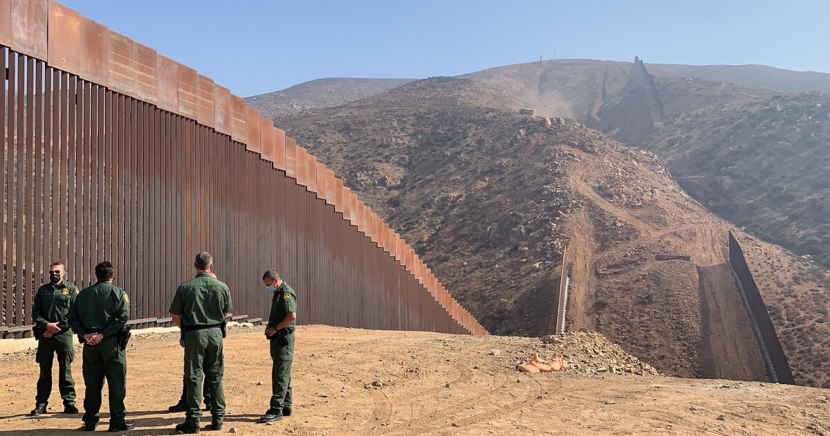 New border wall in San Diego forces smugglers out to sea, where federal agents wait