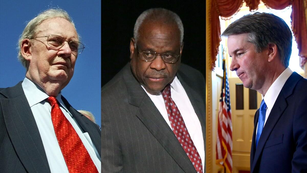 Bork, Thomas, Kavanaugh: Third time's the charm?