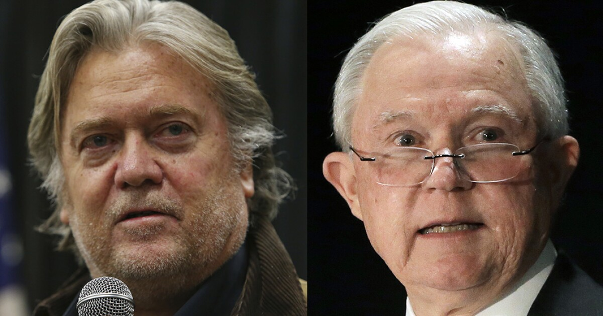 Steve Bannon knew of Jeff Sessions recusal before attorney general nomination