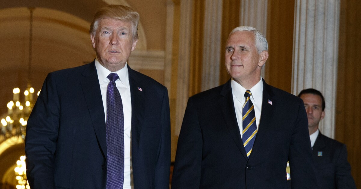 Trump: I don't question Pence's loyalty at all