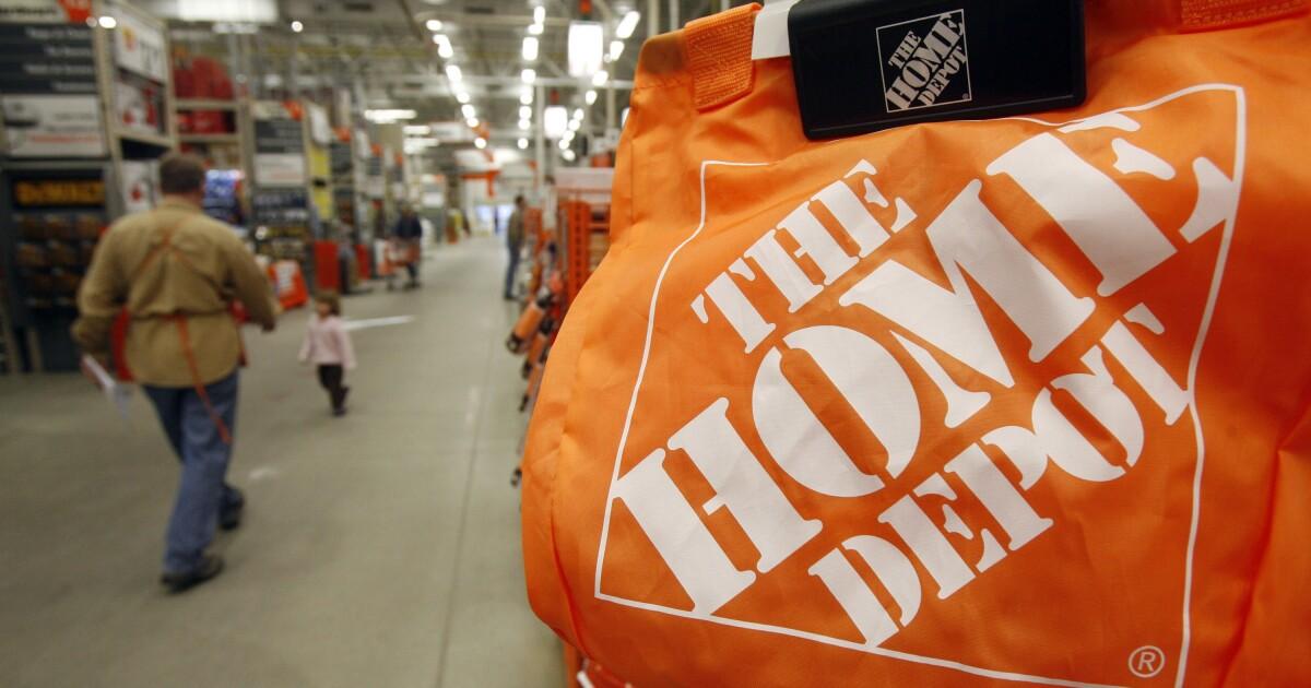 Profit rises at Home Depot despite slowing US housing market