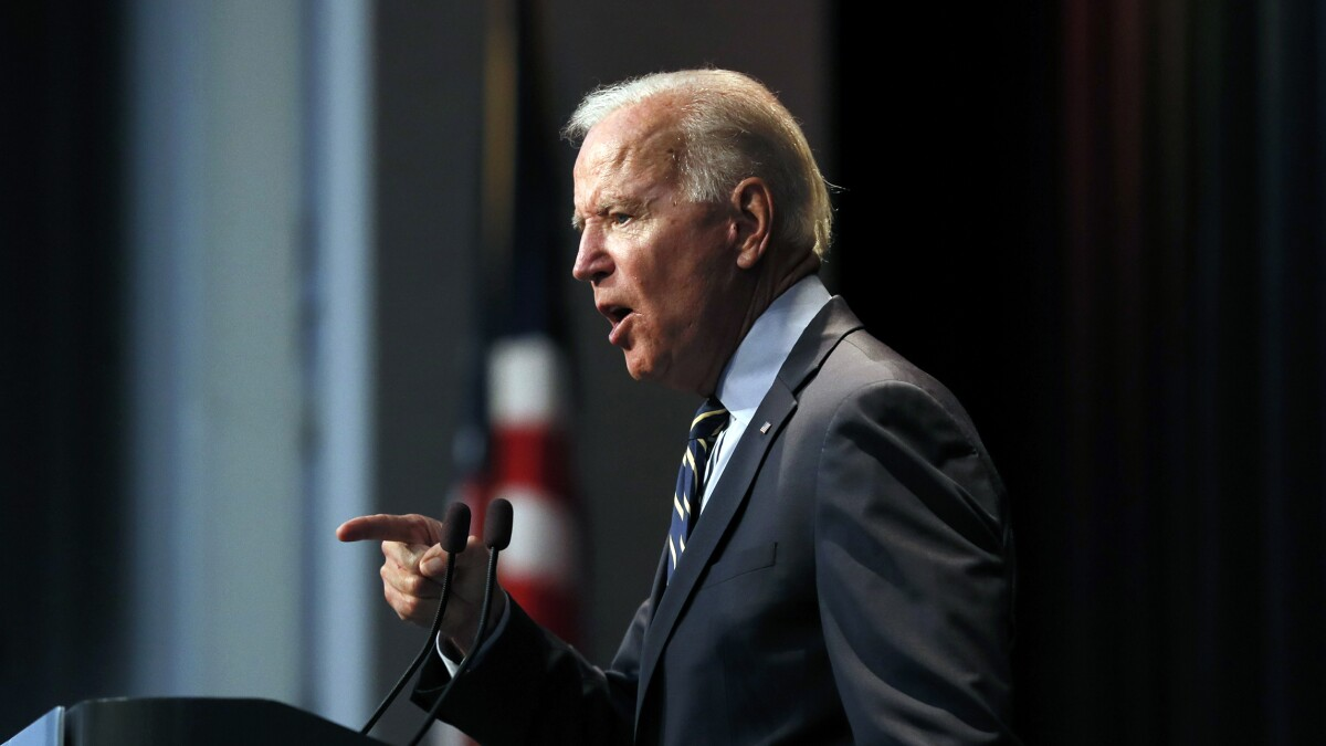 Biden on minority support: 'I was raised in the black church'
