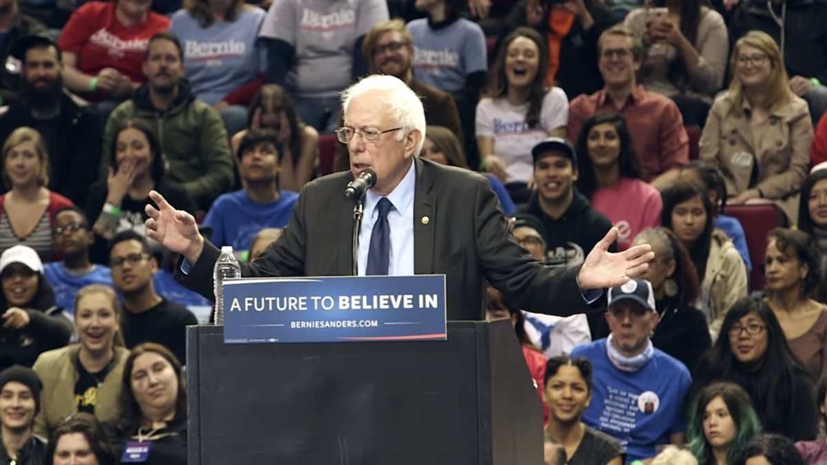 'A Future to Believe in': Bernie Sanders has best 2020 Democratic slogan, survey finds